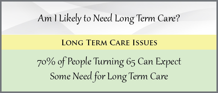 Am I Likely to Need Long Term Care?